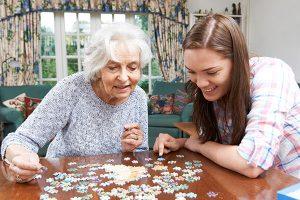 Service de répit pour proches de personnes âgées
