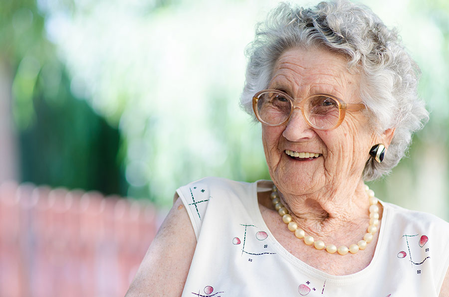 Clientèle de personnes âgées